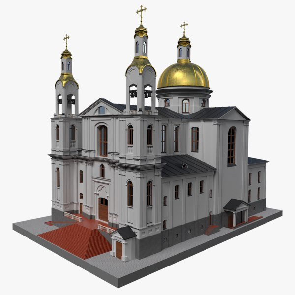 3D assumption cathedral printing