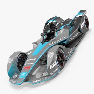 gen2 formula e car 3D model