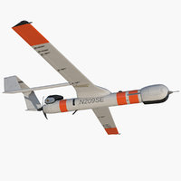 mini uav scaneagle 3 3D model