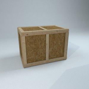 crate industrial model