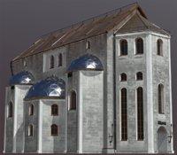 fantasy house medieval 3D model