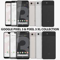 realistic google pixel 3 model