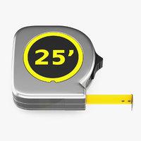 tape measure 3D