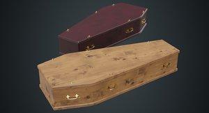 3D coffin 1a model