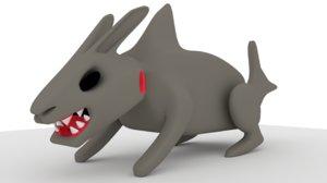 bunny shark 3D model