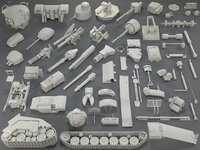 Tank Parts (60 pieces) - collection-3