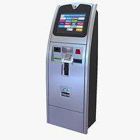 3D electronic kiosk model