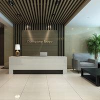 office lobby scene 3D