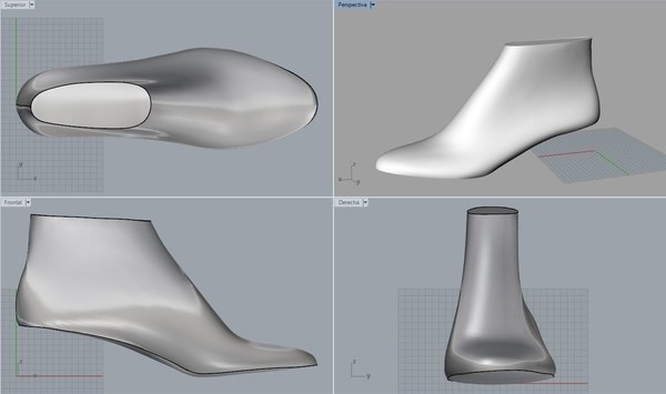 3D model pack woman shoe lasts