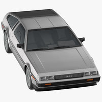 delorean generic driving 3D