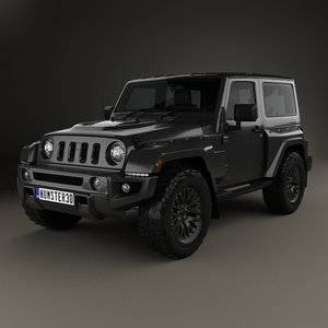 jeep wrangler jc300 3D