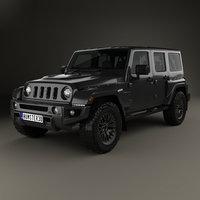 jeep wrangler jc300 3D model