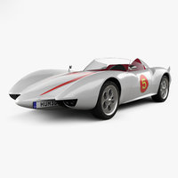 3D model speed racer mach
