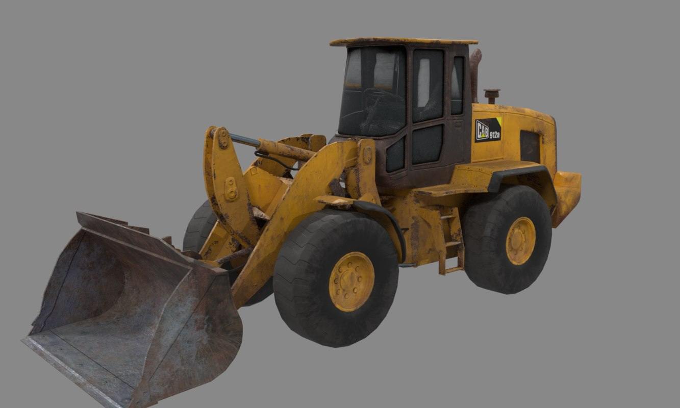 loader pbr ready model