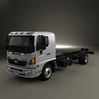 Hino 500 FD (1124) Chassis Truck 2016