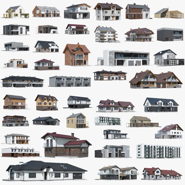 building cottage 3D