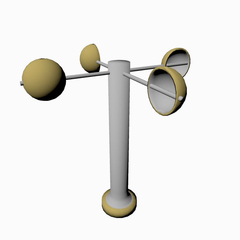 cartoon weather vane 3D model