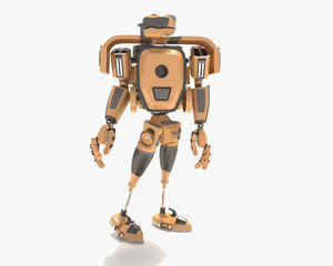 3D robot kitchen