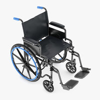 wheelchair medical 3D model