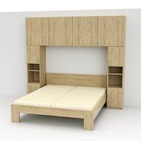 bed sim 3D model