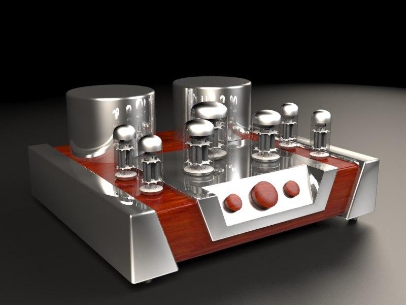 3D vacuum tube amplifier