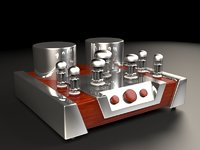 3D vacuum tube amplifier