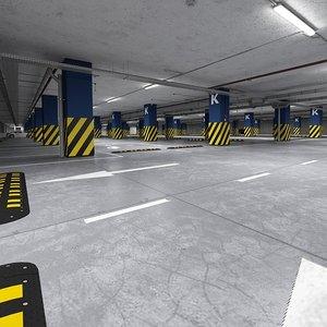 parking 3D model