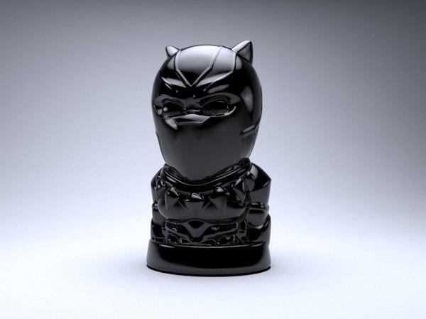 3D model black pantera