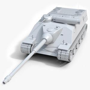 3D franch heavy tank amx model