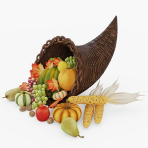 thanksgiving 3D model