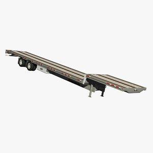 3D benson drop deck trailer