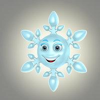 3d model cool cartoon snowflake
