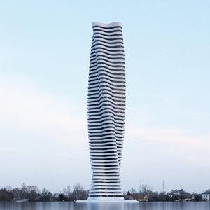 building office skyscraper 3D