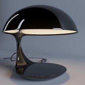 cobra table lamp martinelli 3D