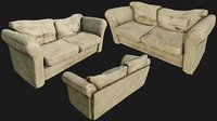 Old Cotton Couch PBR