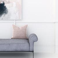 3D model velvet cushion