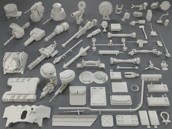 tank parts - 61 3D