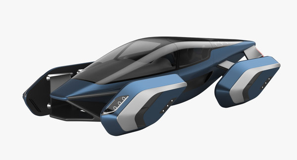 hover car concept 3 model