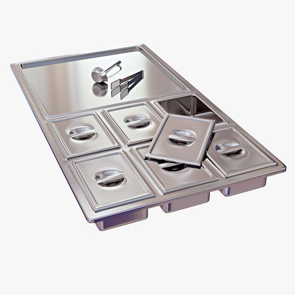 buffet equipment 3D