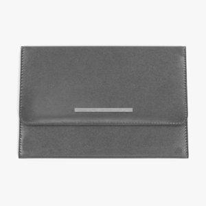 leather purse 3D