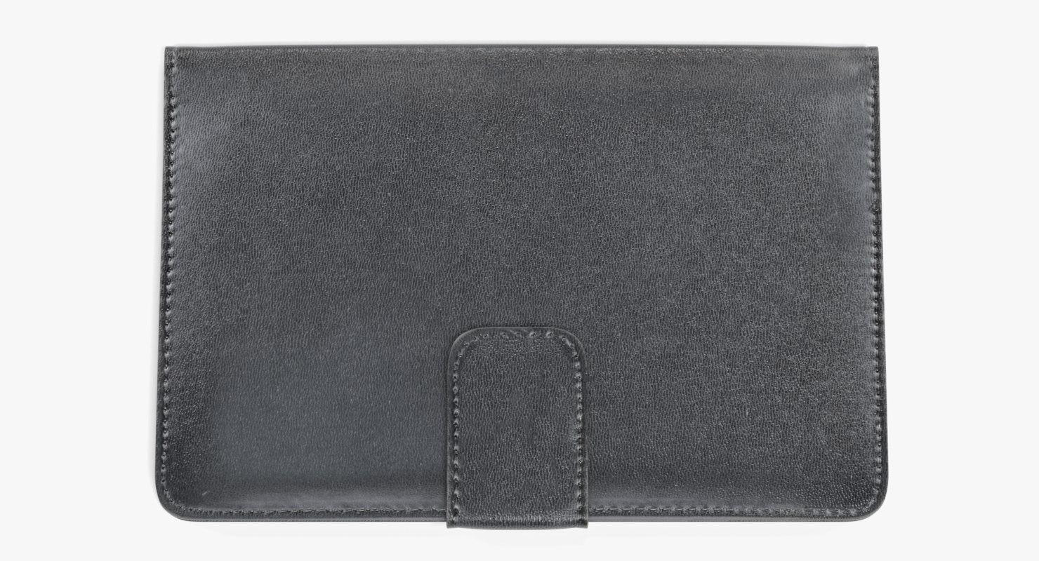leather wallet 3D model