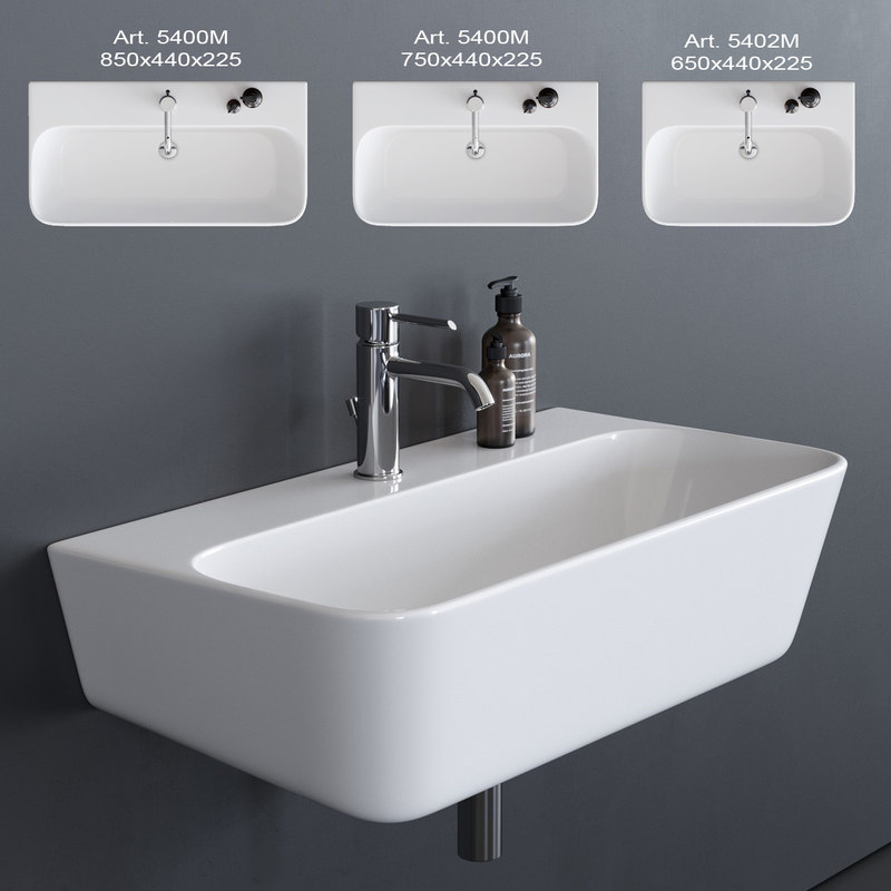 meg11 washbasin 3D