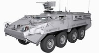 M1126 Stryker Game Model 88K