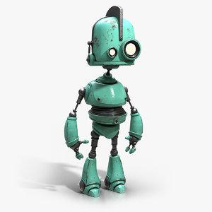 cute robot model