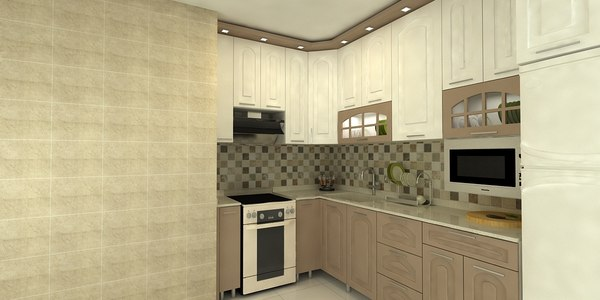 decor kitchen 3D