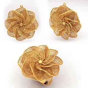 3D model jewelry ring earing modeler