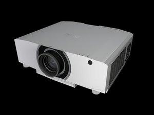 3D projector nec model