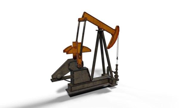 3D oil oilrig