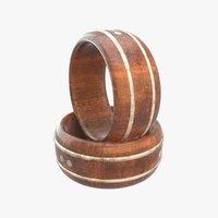 guitar ring 3D model