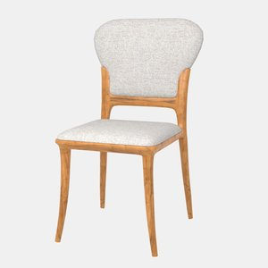 san remo dining chair 3D